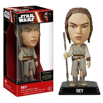 Star Wars The Force Awakens Rey Bobble Head