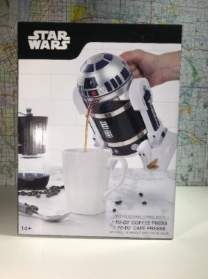 Star Wars R2-D2 Coffee Press - Prepara seu Café