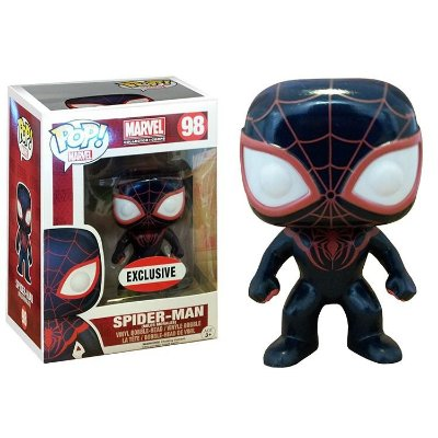 Funko POP Marvel 98 Spider-Man Miles Morales Exclusive