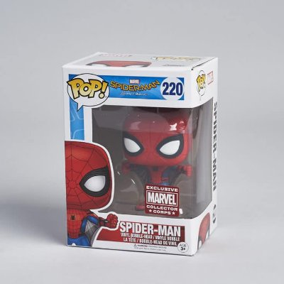 Funko Pop Marvel 220 Spider-Man Homecoming Exclusive