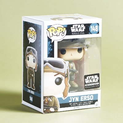 Funko Pop Star Wars Rogue One 148 Jyn Erso Exclusive
