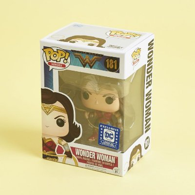Funko Pop Heroes DC 181 Wonder Woman Legion Exclusive