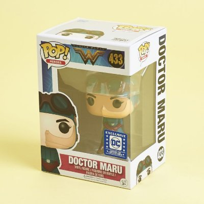 Funko Pop DC Wonder Woman 433 Doctor Maru Exclusive