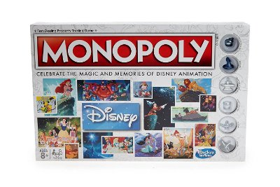 Monopoly Disney Animation Edition Game Hasbro