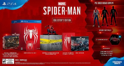 Marvel Spider-Man Collectors Edition - PS4