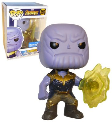 Funko Pop Marvel Avengers Infinity War 296 Thanos Exclusive