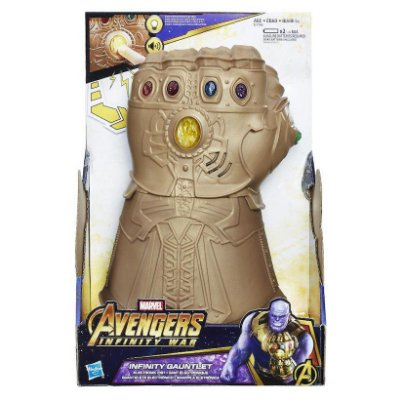 Marvel Avengers Infinity War Punho Eletrônico Articulado Thanos