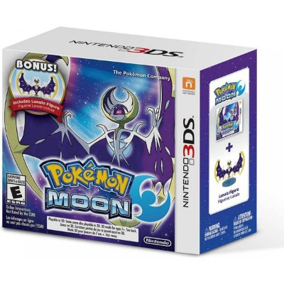 Pokémon Moon + Lunala Figure Limited - 3DS
