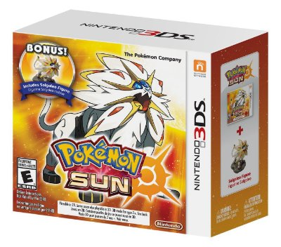 Pokémon Sun + Solgaleo Figure Limited - 3DS
