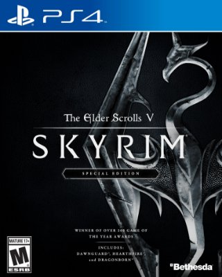The Elder Scrolls V Skyrim Special Edition - PS4