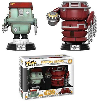 Funko Pop Solo Star Wars 2-pack Fighting Droids Exclusive
