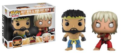 Funko Pop 30th Anniversary Street Fighter Hot Ryu e Violent Ken