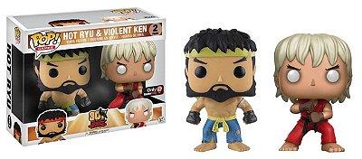 Funko Pop 30th Anniversary Street Fighter Hot Ryu e Violent Ken
