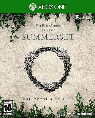 The Elder Scrolls Online Summerset Collectors Edition Xbox One