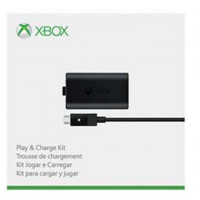 Carregador Controle Xbox One Play and Charge Kit