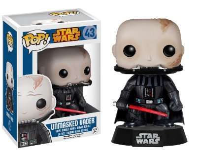 Funko Pop Star Wars 43 Unmasked Darth Vader