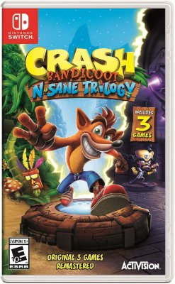 Crash Bandicoot N. Sane Trilogia - Switch
