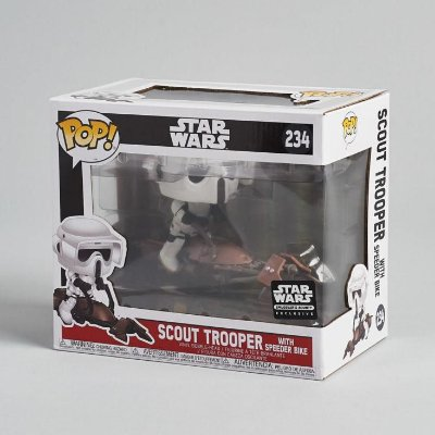 Funko Pop Star Wars 234 Scout Trooper with Speeder Bike