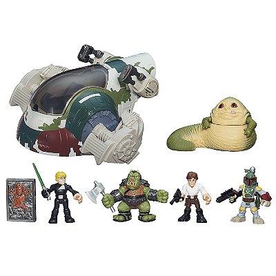 Star Wars Galactic Heroes Jabbas Bounty Playset Hasbro