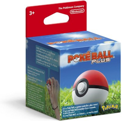 Poke Ball Plus Pokemon Pokeball - Switch