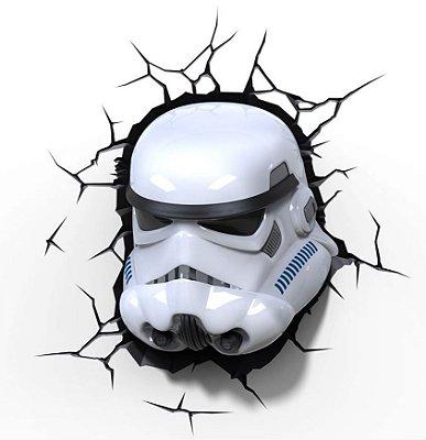 Luminária 3D Light FX Star Wars Stormtrooper