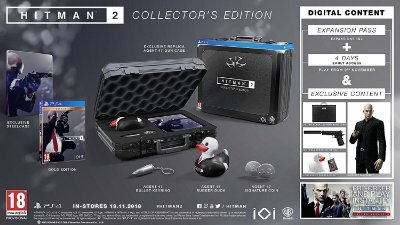 Hitman 2 Collectors Edition - PS4