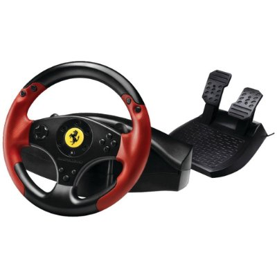 Thrustmaster Ferrari Racing Wheel Volante c/ Pedais Red Legend Edition PS3 / PC