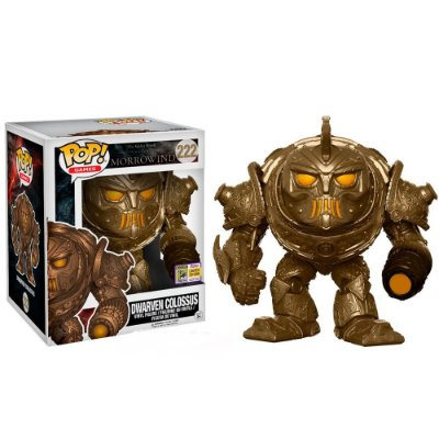 Funko Pop The Elder Scrolls 222 Dwarven Colossus Exclusive