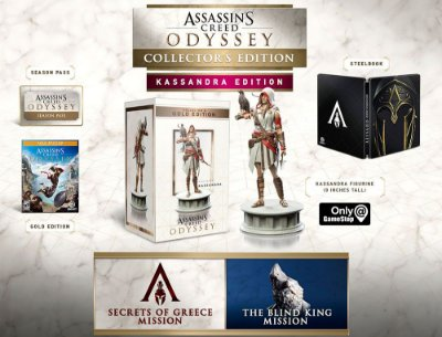 Assassins Creed Odyssey Collectors Kassandra Edition - PS4