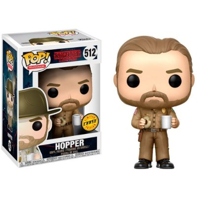 Funko Pop Stranger Things 512 Hopper Chase