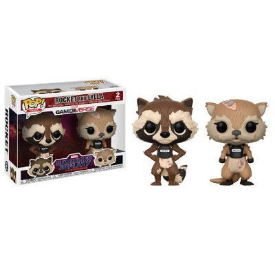Funko Pop Guardians of the Galaxy 2 Pack Rocket and Lylla