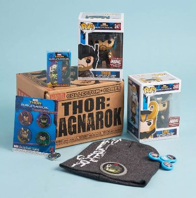Funko Pop Thor Ragnarok Marvel Collector Corps Box