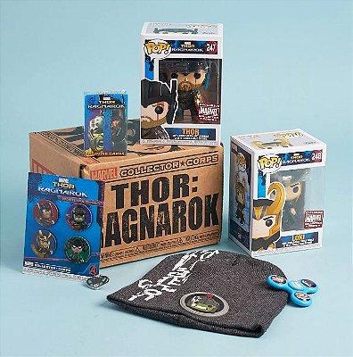 Funko Pop Thor Ragnarok Marvel Collector Corps Box