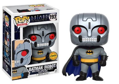 Funko Pop Batman The Animated Series 193 Batman Robot Chase