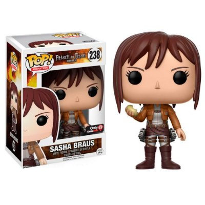 Funko Pop Attack on Titan 238 Sasha Braus Exclusive