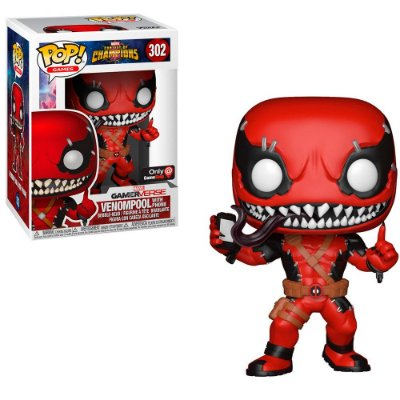 Funko Pop Marvel Contest of Champions 302 Venompool Exclusive