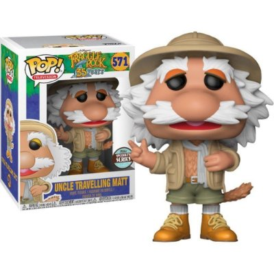 Funko Pop Fraggle Rock 571 Uncle Traveling Matt Exclusive