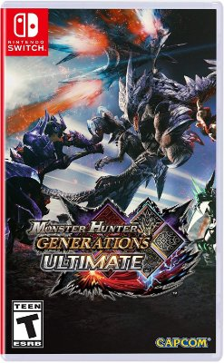 Monster Hunter Generations Ultimate - Switch