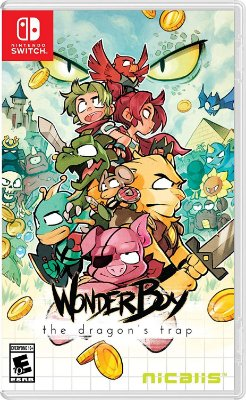 Wonder Boy The Dragon's Trap - Switch