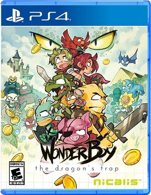 Wonder Boy The Dragon's Trap - PS4