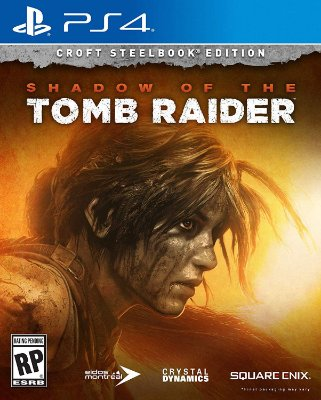 Shadow of the Tomb Raider Croft Steelbook Edition - PS4