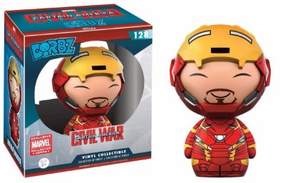 Funko Dorbz Captain America Civil War 128 Iron Man Exclusive