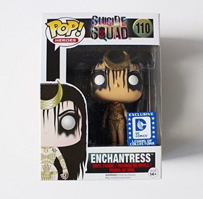 Funko Pop Suicide Squad 110 Enchantress Exclusive