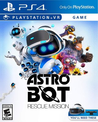 Astro Bot Rescue Mission - PS4 VR