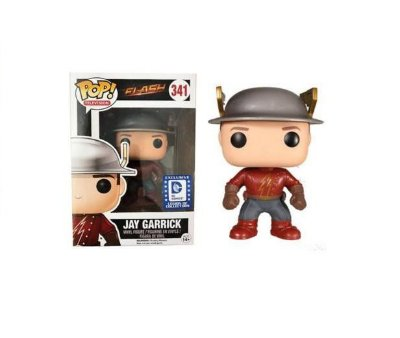 Funko Pop The Flash 341 Jay Garrick Exclusive