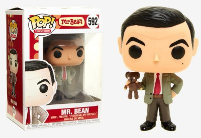 Funko Mr. Bean Pop 592 Mr. Bean c/ Bear Plush