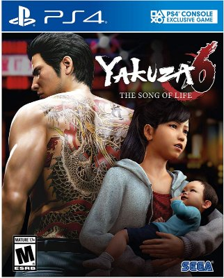 Yakuza 6 The Song of Life Essence of Art Edition - PS4
