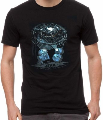Camiseta Funko Pop Star Wars Droids + Pin e Patch Droid