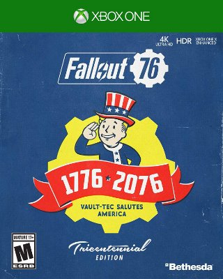 Fallout 76 Tricentennial Edition + Fallout Canvas Bag - Xbox One