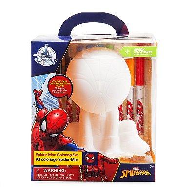 Spider-Man Coloring Figure Set Design for Kids